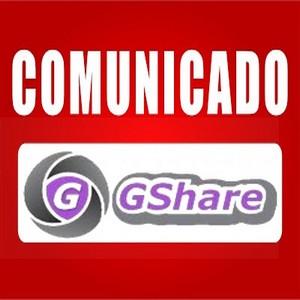 FREESKY - COMUNICADO OFICIAL DA TEAM GSHARED CONFIRAM - 28/02/2018