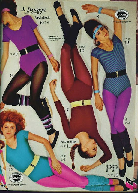 80s Workout Fashion 1983 Catalogue