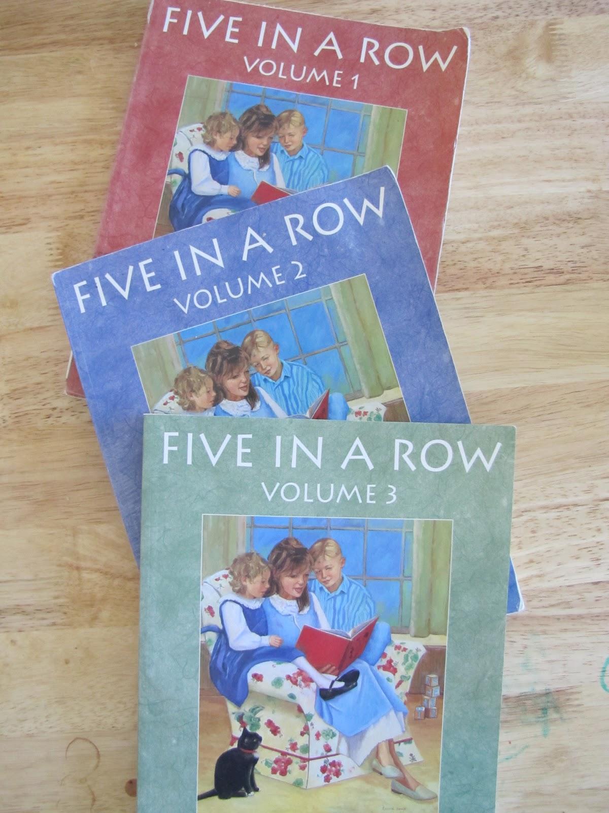 five in a row homeschool curriculum