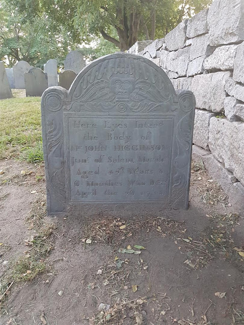 Old Burying Point Cemetery Tombstone