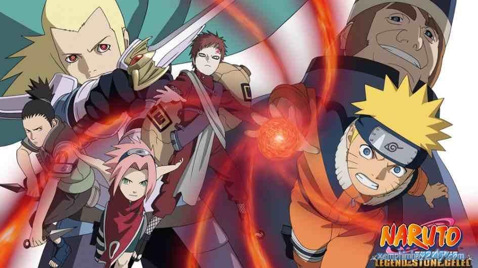 http://xemphimhay247.com - Xem phim hay 247 - Huyền Thoại Đá Gelel (2005) - Naruto Movie 2: Legend Of The Stone Of Gelel (2005)