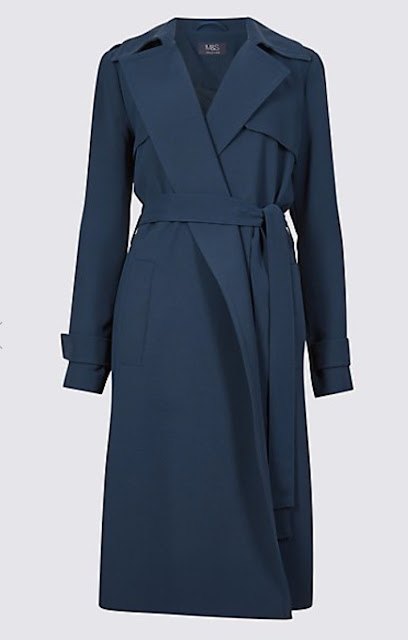 Marks & spencer Crepe Trench Coat