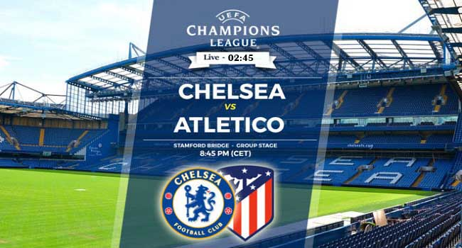 live streaming chelsea vs atletico madrid