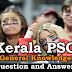 Kerala PSC General Knowledge Question and Answers - 80