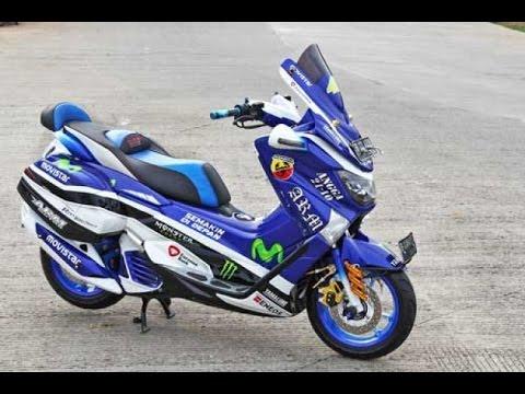 modifikasi motor yamaha nmax foto gambar33  terbaru