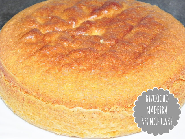 BIZCOCHO MADEIRA SPONGE CAKE