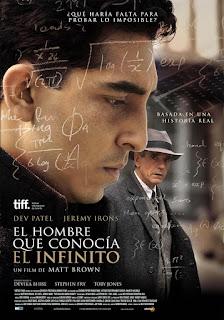 Cartel: El hombre que conocía el infinito (2015)