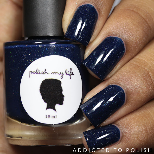Polish My Life Sapphire Baubles