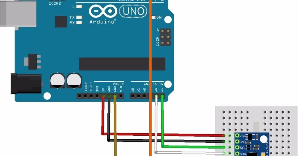 Download Library Sensor GY-521 MPU6050 Arduino Update - TEKNIK