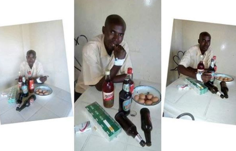 Imagine! Cancer Patient Sneaks Out Of Hospital To Drink and Smoke