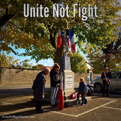 French Village Diaries Remembrance Day Unite Not Fight