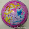 Balon Foil Bulat Motif HAPPY BIRTHDAY / Balon Foil Bulat HBD (04)