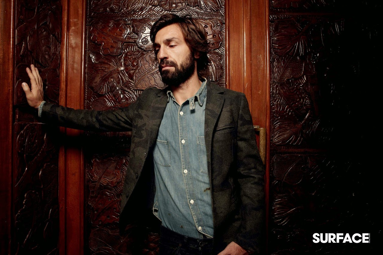 Andrea Pirlo belongs to a dying breed of sporting ... |Andrea Pirlo Style