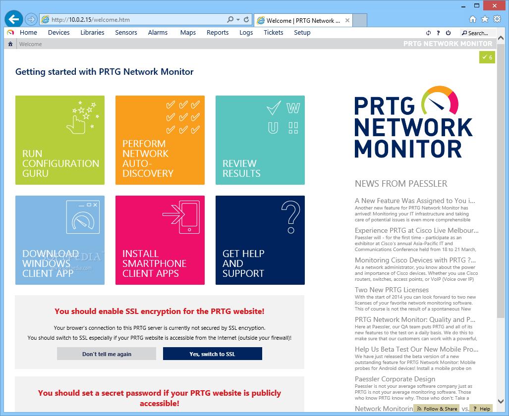 PRTG Network Monitor License Keygen Free Download ~ Download