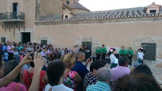 Sevillana, Albox, Santuario del Saliente