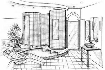 Bila Gambar Bersuara Lakaran Seni Dalaman Interior Design