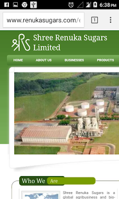 Shree Resuka Sugars
