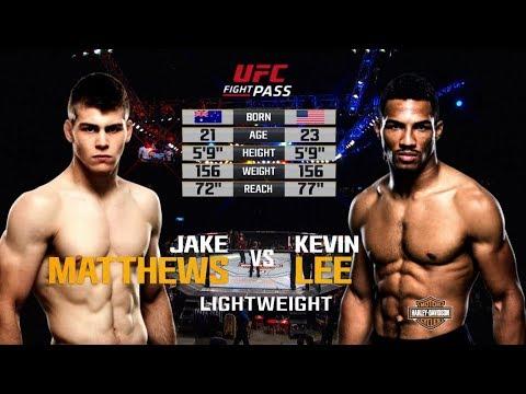 Kevin Lee vs Jake Matthews
