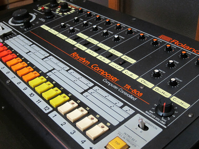 matrixsynth roland tr 808 vintage analog drum machine sn 031199. Black Bedroom Furniture Sets. Home Design Ideas