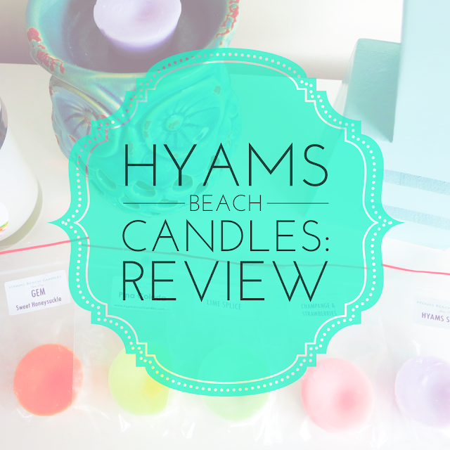 Hyams Beach Candles Review Soy Melts