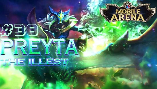 """Skills Hero Baru """"Preyta"""" AOV - Mobile Arena dan Buildnya"""
