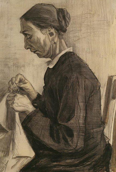Desenho de Vincent Van Gogh