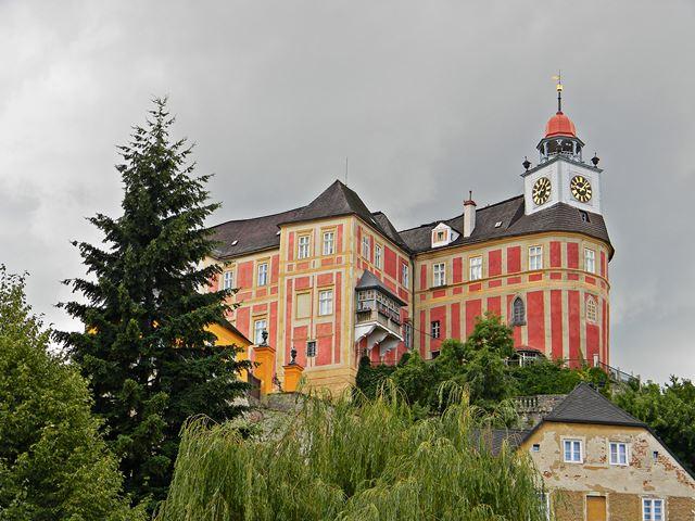 Javornik, Czechy, przy granicy, zabytki