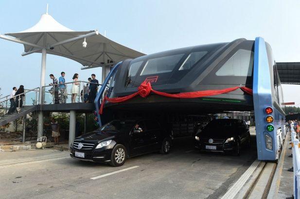 Súper Bus de mentir en China?