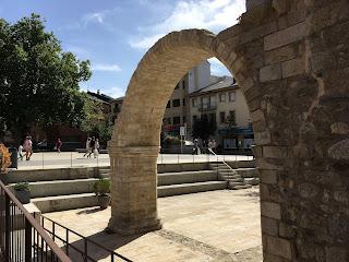Restes de l'esglésa de Santa Maria de Puigcerdà