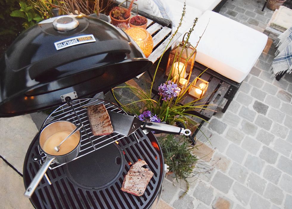 Interior, Food, DOMO, Sunset BBQ, barbecue, summer, setting, garden, MySpirelli