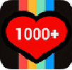 1000 Likes for Instagram 1.0.2 APK Free Download
