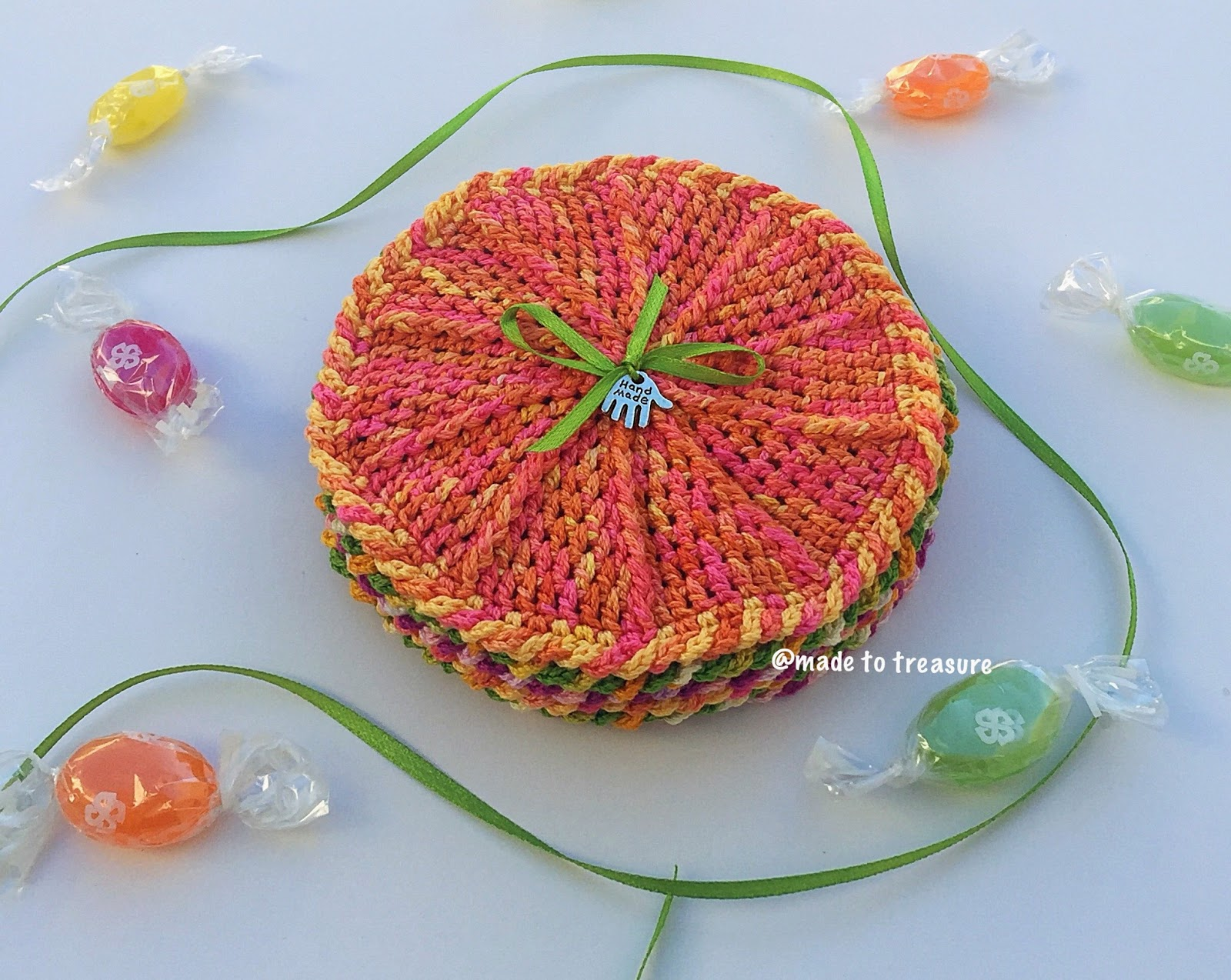 Candilicious free crochet coaster pattern made to treasure candilicious free crochet coaster pattern bankloansurffo Choice Image