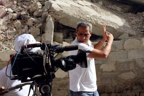 إصابة الفنانمهند قطيش بجروح إثر تعرضه لحادث سير على طريق دمشق السويداء.صور