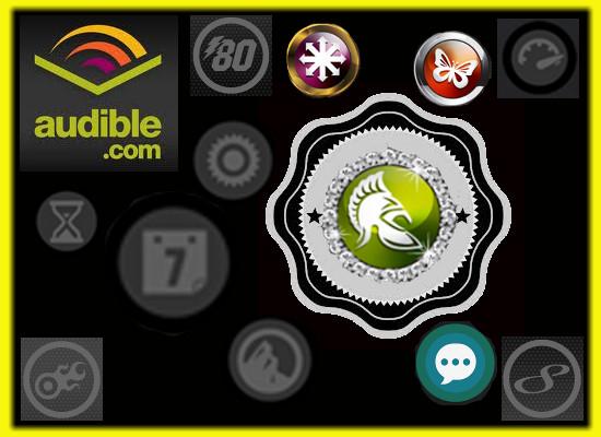 speaking of audible badges