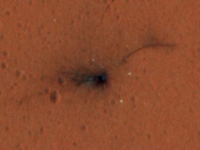 Ảnh chụp bởi vệ tinh do thám Sao Hỏa của NASA vào ngày 1 tháng 11 năm 2016. Hình ảnh: NASA/JPL-Caltech/Đại học Arizona.