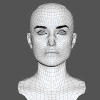 3d model Keira Knightley head