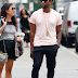 Usher steps out in costly house slippers, see price (photos)