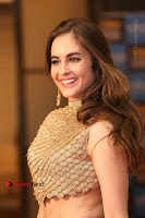 Actress Model Sarah Hopkins Latest Pos in Lehenga Choli at SIIMA Short Film Awards 2017 .COM 0194.JPG