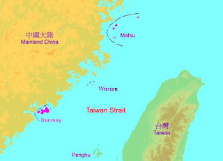 China is conducting live-fire military exercises in the Taiwan Strait