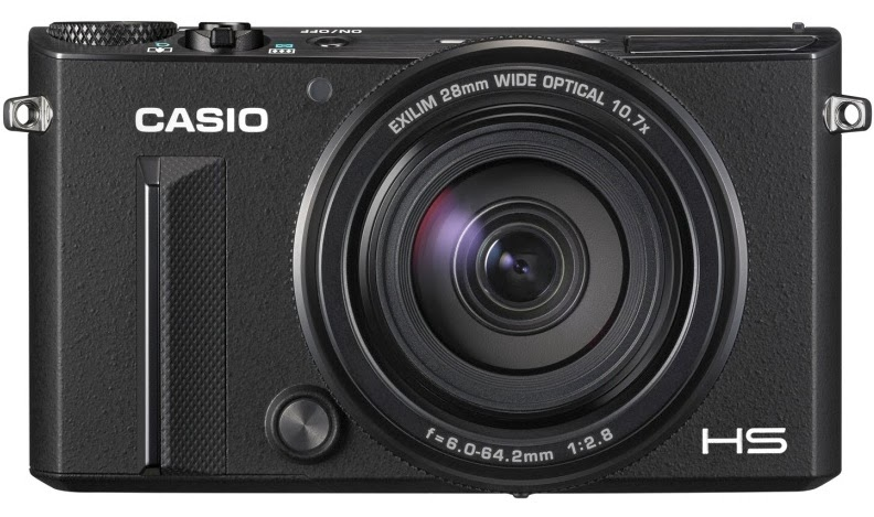 Casio Exilim EX-100, HDR, Wi-Fi, dual bracketing, Full HD, new digital camera, premium bracketing, image stabilization