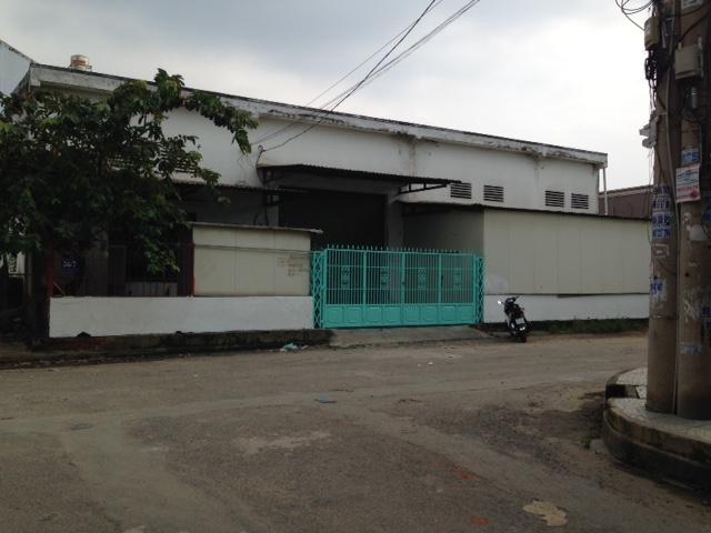 Cho thuê nhà xưởng 1300m2 giá 38tr/th phường Tân Thới Nhất, Q12