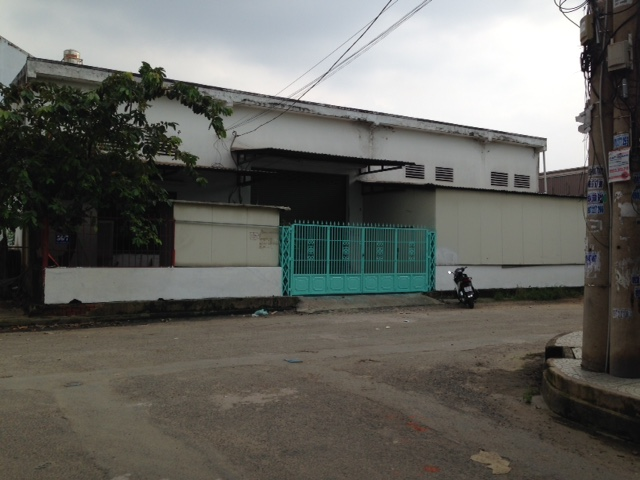 Cho thuê kho xưởng 420m2 mặt tiền đường Tân Thới Nhất 17, quận 12