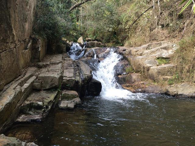 Cachoeira dos Amores, em São Bento do Sapucaí, na Serra da Mantiqueira