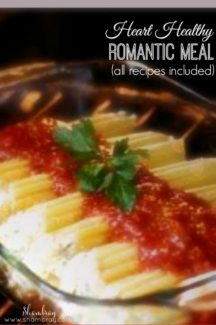 healthy meal for two pasta | healthy meal for two recipes | heart healthy romantic meal