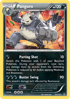 Pangoro BREAKpoint Pokemon Card