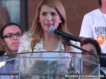 Alcaldesa Margarita Arellanes