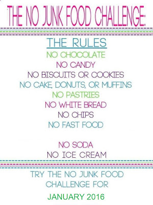 The No Junk Food Challenge can help you lose 1 to 2 pounds a week.