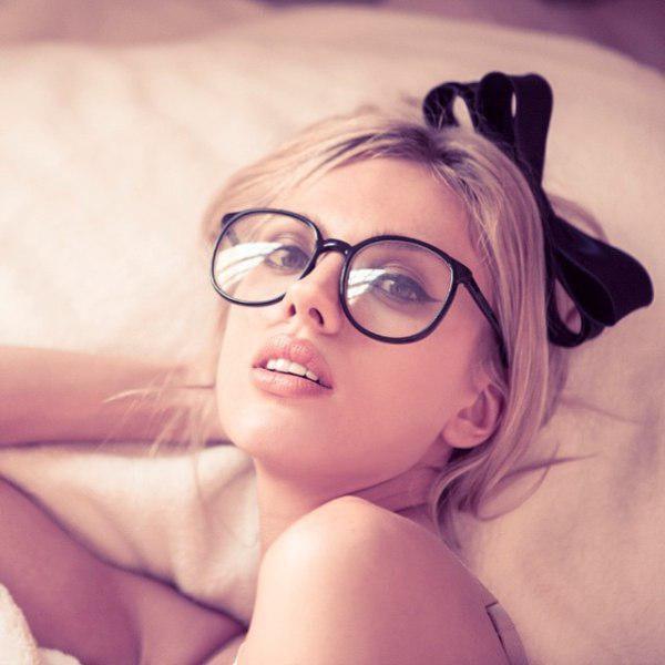 Sexy blonde woman image photo