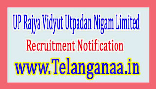 UP Rajya Vidyut Utpadan Nigam LimitedUPRVUNL Recruitment Notification 2017
