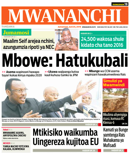 Magazeti Tanzania